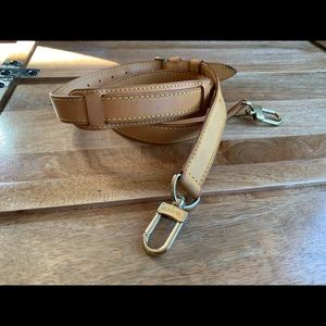 Louis Vuitton shoulder leather  strap